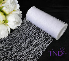 6�x10 Yds (30 Ft) Sisal Random Floral Mesh Wrap Roll Spool