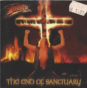 SINNER / THE END OF SANCTUARY * PROMO CD 2000