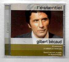 CD ALBUM / GILBERT BECAUD - L'ESSENTIEL / 16 TITRES COMPILATION 2002