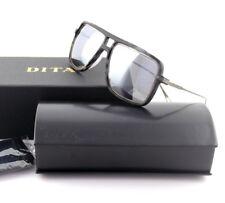 9d082283b9b NEW Genuine DITA WESTBOUND Square Matte Grey Tortoise Silver Sunglasses  19015-C