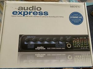 MOTU Audio Express 6x6 Hybrid Firewire-USB 2.0 Interface For Parts Only.