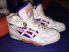 "Rare VTG 1993 Womens SZ 9 ASICS ""GEL CRUSHER HIGH"" Volleyball High Top Shoes OG"