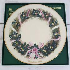 Lenox Limited Edition 13 Colonies Christmas Wreath Plate 1991 South Carolina Nib