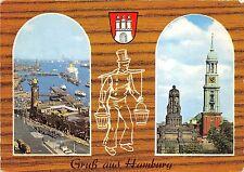B35614 Hamburg Hafen St michaeliskirche germany