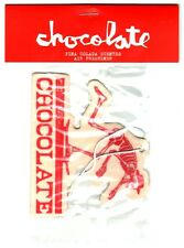 Chocolate Skateboard Skate air freshener-el chocolat-Casier voiture Rouge