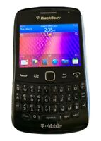T Mobile BlackBerry Curve 9360 3G GSM Camera Smartphone Black with power cord