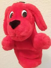 """Clifford The Big Red Dog Hand Puppet 8"""" Scholastic Stuffed Plush (M2)"""