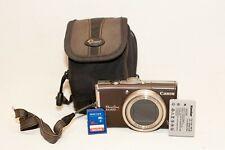 Canon PowerShot SX200 IS 12.1 MP Digital Camera~~Excellent~~Bundle~~00366