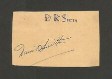 Cricket West Indies signature autograph of Dwayne Smith 1950s-60s