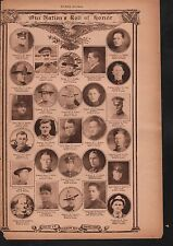 World War I Roll of Honor 1918 Deaths of Heros #26