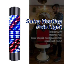 Barber Led Rotating Wall Light Pole Lamp Shop Sign Barber Pole Lamp Waterproof