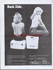 "BTR Packers Luggage ""Back.Side."" Motorcycle 1978 Magazine Advert #2674"