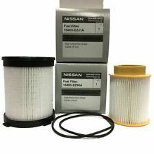 OEM NEW Fuel Filter Kit -16-18 Nissan Titan XD 5.0L V8 -16403-EZ40A 16403-EZ41A