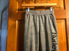 Euc Hurley Boy's Gray Athletic Pants Large