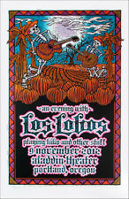 Los Lobos Poster Playing Kiko Live 2012 Signed Silkscreen by Gary Houston