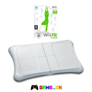 Official White Nintendo Wii Fit Balance Board & Wii Fit Game - FREE UK P+P