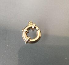 9ct Gold Vintage Quality Bolt Fastener For Chain or Bracelet