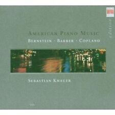 SEBASTIAN KNAUER - AMERIKANISCHE KLAVIERWERKE  CD NEU