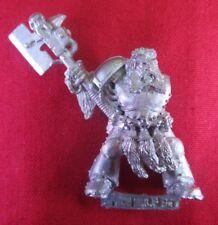 Warhammer 40k citadel 1992 SPACE MARINE SPACE WOLF LONG FANG SERGEANT