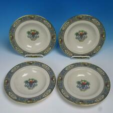 Lenox China Autumn - 4 Flat Rim Soup Bowls - 8¼ inches
