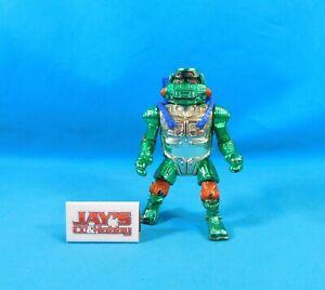 Vintage 1995 Warrior Metalhead Michelangelo Figure Ninja Turtles TMNT Playmates