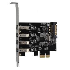 4 porte SuperSpeed USB 3.0 PCI a 15-pin connettore di alimentazione SATA es R8X7