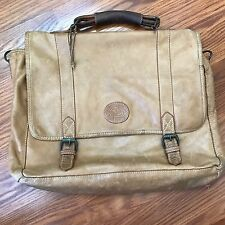 Vintage Colombian Bags Co. Hand Crafted Soft Leather Garment Travel Luggage