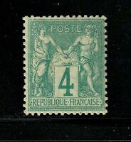 France stamp #66, MHOG, 1876 - 78, VVF, Type 1, SCV $145