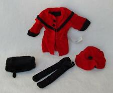 """Madeline 8"""" Doll Winter Outing Red Coat Set Very Nice!"""