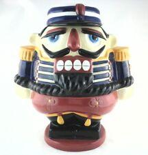 Cookie Jar BOMBAY COMPANY 2001 NUTCRACKER Home Decor Collectible Container