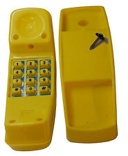 Swing Set Play Backyard Jungle Gym Playground Cordless Play Telephone Yellow