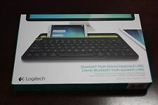 Logitech Bluetooth Multi-Device Keyboard K480 Computers Tablets Smartphones NEW
