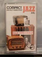 Compact JAZZ: Ella Fitzgerald (Cassette 1990, Verve) JAZZ CHROME