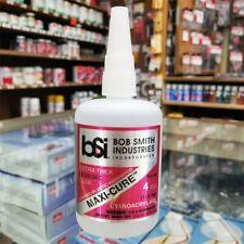 Bob Smith Industries BSI 136 MAXI-CURE Gap Filling Pocket CA Glue 4 OZ. Bottle