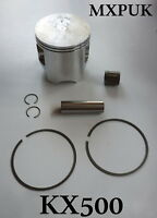 KX500 1990 PISTON KIT GENUINE KAWASAKI 1990  KX 500 MXPUK 13001-1327 (181)