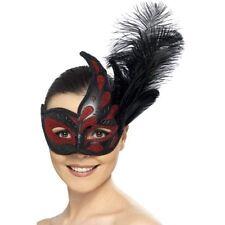 Venetian Women Feather Costume Masks