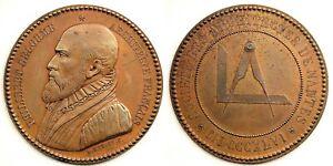 Francia-medalla. 1846 Nantes. Sociedad de arquitectos de Nante. SC/UNC Cobre 11g