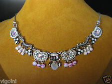AYALA BAR NECKLACE CLOUD WHISPER CLASSIC SWAROVSKI CRYSTALS DESIGNER GIFT