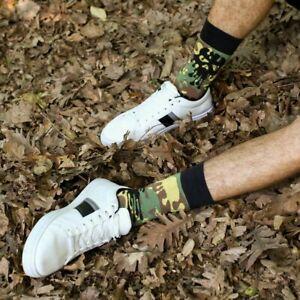 Men Camouflage Socks Gift Socks Novelty Socks Funny Socks
