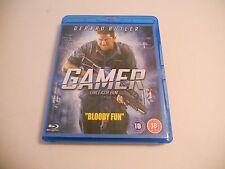 GAMER GERARD BUTLER UK BLU RAY DVD