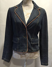 INC International Concepts Women Long Sleeve Denim Jacket Size Small S