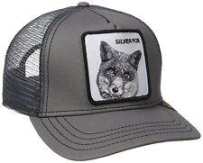 New Collection 2017 Goorin Bros Farm GRAY SILVER FOX Mens Trucker Hat.