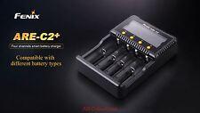 Fenix are-c2+ 4 volte BATTERIA-Caricabatterie Multi-Charger per tra l'altro 18650 AA AAA C 26650