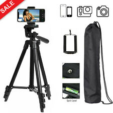 Professional Camera Tripod Phone Stand for iPhone Samsung Cell Phone Canon + Bag