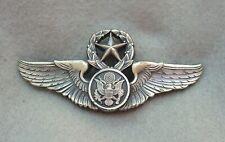 USAF Air Force Master air crew wings by N. S. Meyer N. Y. 22M Hallmark  (xh33)