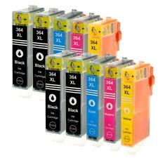 10 pcs cartridges HP 364XL for HP Photosmart 5520 5524 6510 6520 7510 XL (Chip)