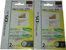 4 X Protector de Pantalla Nintendo Ds Lite Nds Cubierta Ultra Delgada