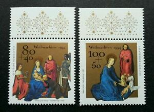 [SJ] Germany Christmas 1994 Festival (stamp with margin) MNH