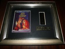 Lady And The Tramp  Limited Edition Placque with 35mm film clip