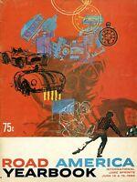 1960 Road America June Sprints Race Program Augie Pabst Scarab MK II Wins
